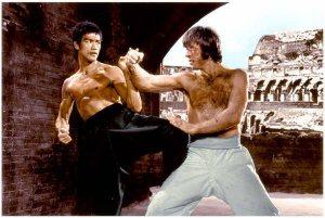 Bruce Lee-vs-Chuck Norris